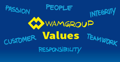 """371582c272979 WAMGROUP """"Values"""" Video"""